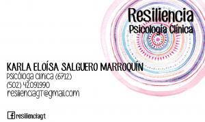 Resiliencia, psicología clínica-